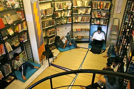 image of Leaping Windows Cafe at Versova - Book Cafes in Mumbai
